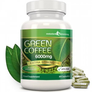Confezione di Green Coffee 6000mg